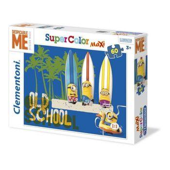 "Minions - 60 Teile Maxi Puzzle ""Beach / Old School"""