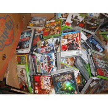 Mischposten von  PC Games, X-Box , PS 3 Spiele