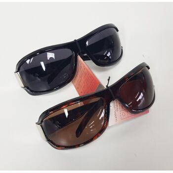Braune und schwarze Sortiment Sonnenbrille für Frauen