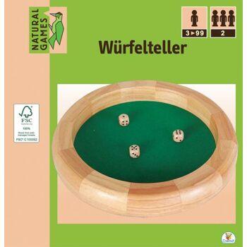 Natural Games Würfelteller 30 cm