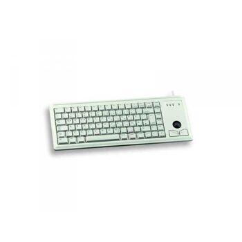Tas CHERRY G84-4400 mit Trackball USB grey US-Engl. Layout G84-4400LUBUS-0