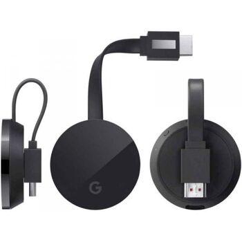 GOOGLE Chromecast Ultra Streaming-Player, Schwarz GA3A00406A07