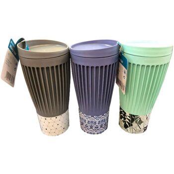 12-8272325, Coffee to go Becher, 500 ml, modern und stilvoll, Kaffeebecher, Trinkbecher, SONDERPOSTEN