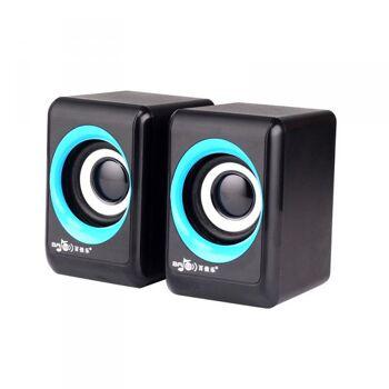 USB Multimedia Lautsprecher 2.0 M03
