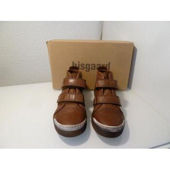 Bisgaard Leder Sneaker mit Klettverschluß 60612.216 Gr.34