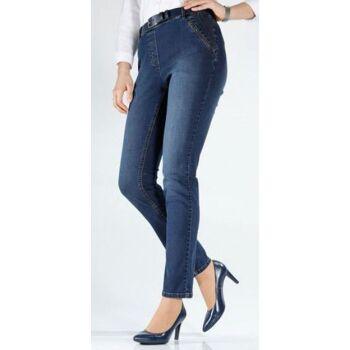 Jeans aus Baumwoll-Stretch-Qualität