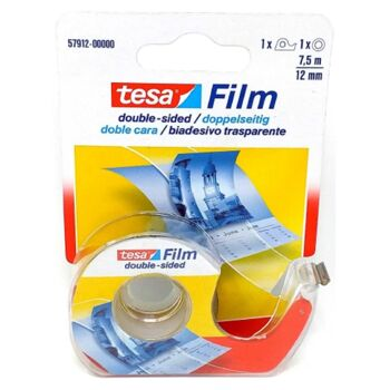 12-57912, tesa Film transparent doppelseitig klebend 7.5mx12mm+ Abr.