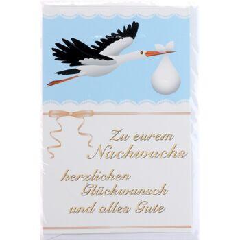 28-021542, Glückwunschkarten zur Geburt, mit Grafiken, Fotos, Geschenkkarten
