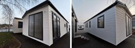 Mobilheim 12,5 x 4m Fertighaus Kompakthaus aus Polen NEU