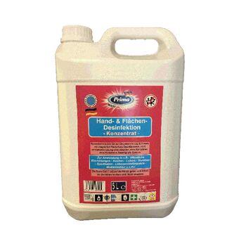 PRIMA Hand- & Flächen-Desinfektion - Konzentrat - 5 L