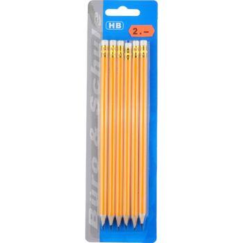 28.140609, Bleistifte HB 6er Pack, sechseckig, statt 2,00 Euro - SONDERPOSTEN
