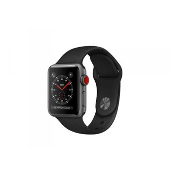 Apple Watch 3 38mm Space Grey Alu. w/ Sport Loop Black LTE MQKG2ZD/A
