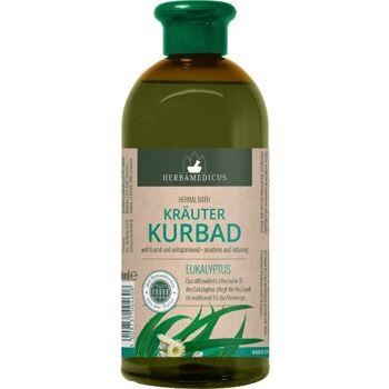 28-200460, Kräuterkurbad Eukalyptus, Inhalt: 500 ml,wohltuend und entspannend, mit ätherischen Ölen