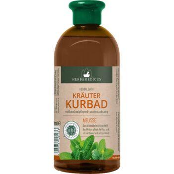 28-200465, Kräuterkurbad Melisse, Inhalt: 500 ml,wohltuend und pflegend, mit ätherischen Ölen