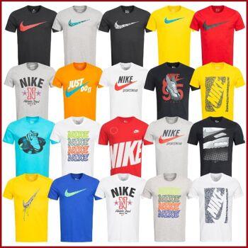NIKE T-Shirt Herren Sport Logo Shirts verschiedene Modelle Swoosh Just Do It