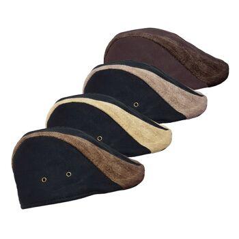 Vintage Kappen für Kinder - vierfarbiges Sortiment