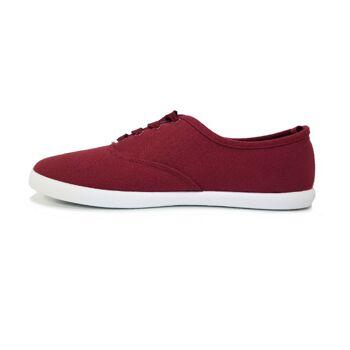 'Chaussures 85' Schuhe - burgunderfarbene Damenschuhe