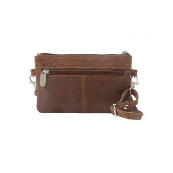 Umhängetasche Handtasche Echt Leder Damen Vintage 3 Farben