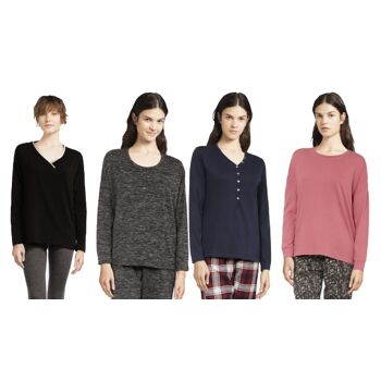 Verschiedene Marken-Langarm-T-Shirts und -Westen
