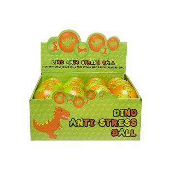 21-4701, Softball Dinomotive 6 cm, ANTI-STRESS BALL, Knautschball, Knetball