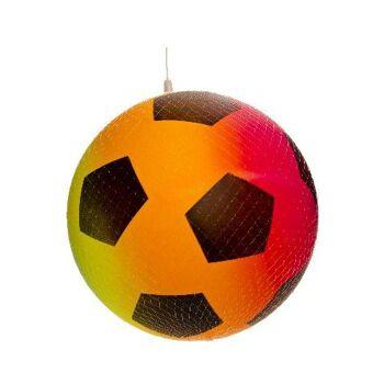 21-4828, Spielball 23 cm, Fussball, Strandball, Beachball, Fußball, Wasserball