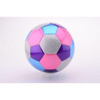 21-4852, Leder Fussball 22 cm, Girls, Mädchen, Lederball, Handball, Fußball, Wasserball, Spielball, Strandball