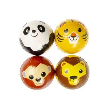 21-4863, Softball Tiere 10,0 cm, Springball, Spielball, Antistress Ball, Wasserball, Knautschball, Knetball++++++