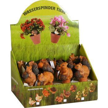 28-09067068, Keramik Wasserspender Tiere, Bewässerung, Blumenbewässerung, Wasserspeicher, Bewässerungshilfe