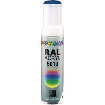 DUPLI-COLOR Lackstift enzianblau glänzend RAL 5010 12 ml Stift, 30 Stück
