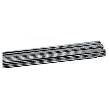 WIG-Schweißstab SG 2, D. 2,4 mm, Stablänge 1000 mm, 25 Stück