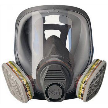 Atemschutz-Vollmaske 6800 Gr.m ohne Filter 400g Kl.1 3m EN136