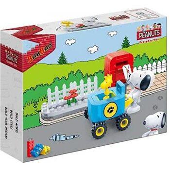 BanBao 7511 - Baukasten, Snoopy Postbote