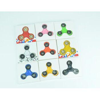 Fidget Spinner - 7,2 cm, sortiert, versch. Farben