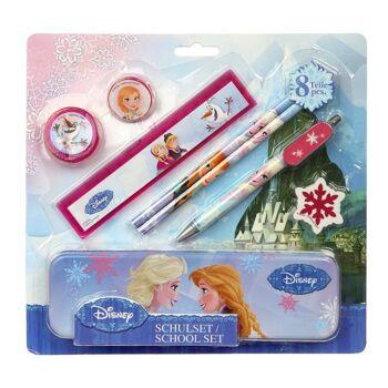 Frozen - Schreibgeschenk Schul Set, 8-teilig