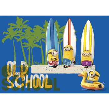 "Minions - 60 Teile Maxi Puzzle ""Beach / Old School"""