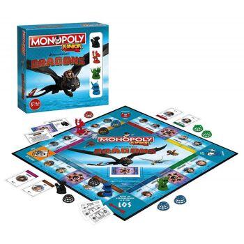 Monopoly Junior - Dragons Collectors Edition *Neu*