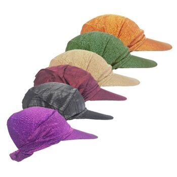 Sommer-Kappen für Frauen - verschiedene Farben melange