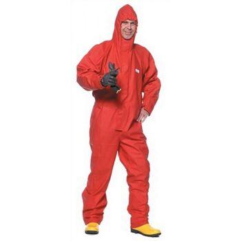 Schutzoverall Gr.M rot Concept 2800 Chemikalienschutz KIND mit Kapuze