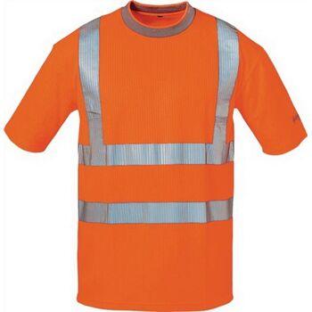 Warnschutz T-Shirt Pepe Gr.M orange 80% PES/20% BW
