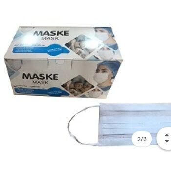 Atemschutz Maske 3 lagig Coronamaske Atemschutz Schutz Gesichts Corona