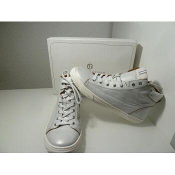 Bellybutton Leder Sneaker Weiß-Silber Gr.39