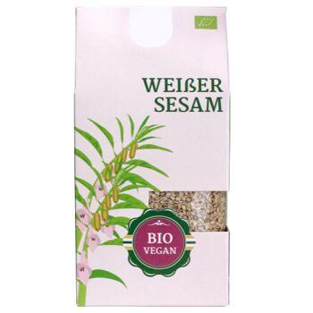 Organic white sesame 200g / BBD 03.2020 / Bio weißer Sesam 200g