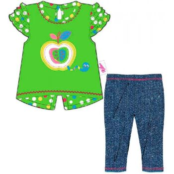 BABY born Kleider Kollektion Dolly Moda Shirt mit Leggings Gr. 38-46 cm