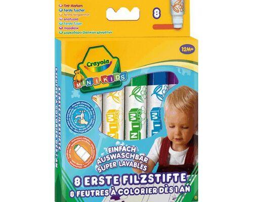 Crayola Mini Kids Filzstifte, 1 Pack a 8 Stk