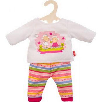 Puppe Pyjama Glücksschäfchen,8-35cm, 1 Stück