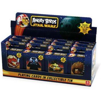 Star Wars Angry Birds Spielkarten Sammelbox, 1 Stück