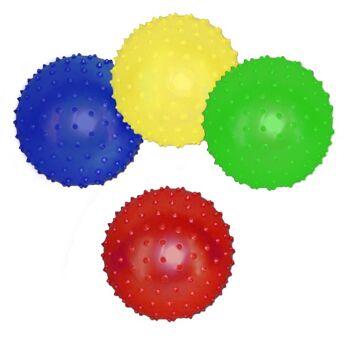 27-71435, Noppenball 10 cm, Stachelball, Igelball, Massageball, Wasserball, Spielball, Strandball