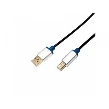 LogiLink Premium USB 2.0 Verbindungskabel USB-A auf USB-B 1,5m BUAB215