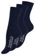 Unisex BAMBUS Socken mit nahtloser Spitze in dunkelblau