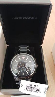 Original Uhr Emporio Armani Ceramica AR1451 /Fossil/Diesel/Michael Kors